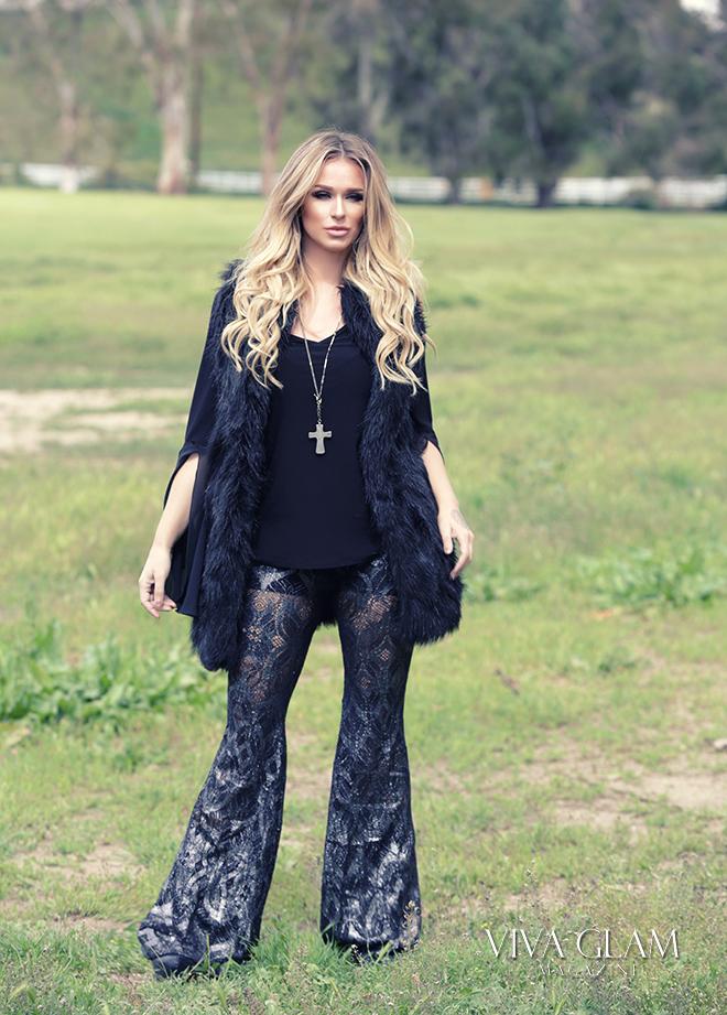 katarina van derham viva glam magazine cashmere hair deja jordan coachella festival fashion inspo faux fur