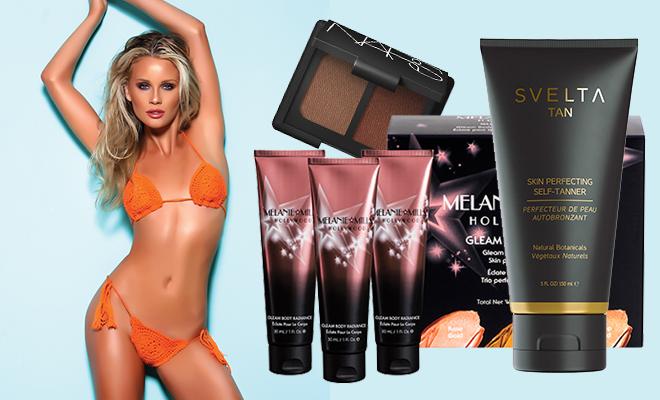 Liv Jaeger, Svelta sunless tan, Melanie Mills, How to Achieve an Exotic Summer Look