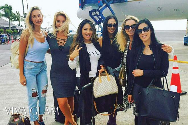 Jesse golden, Anna katarina, Angelica curiel, Candace kita, Katarina van derham, Donna wong-Kona Hawaii photoshoot viva glam magazine sexiest issue