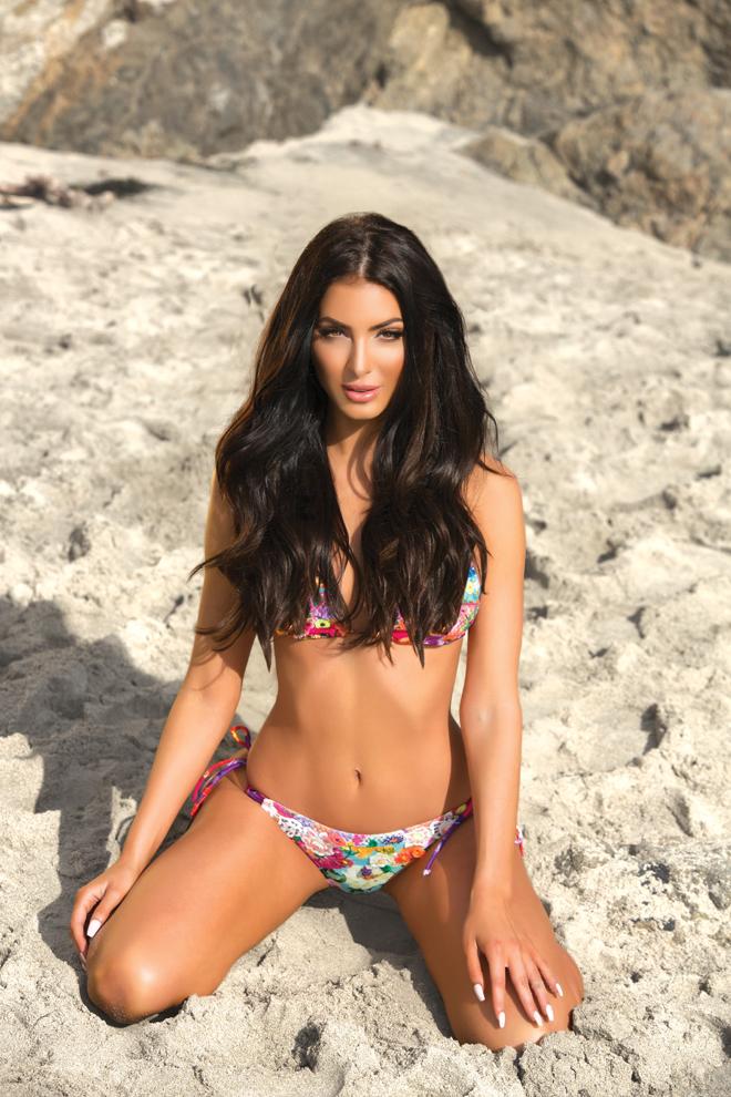 viva glam magazine marissa ibanescu deja jordan sexiest issue bikini Balmain