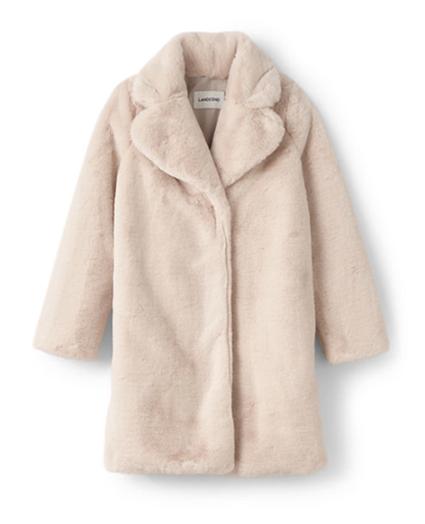 faux fur coats lands end