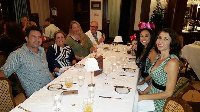 Disney Club 33 Candace Kita dinner party Abigail Disney