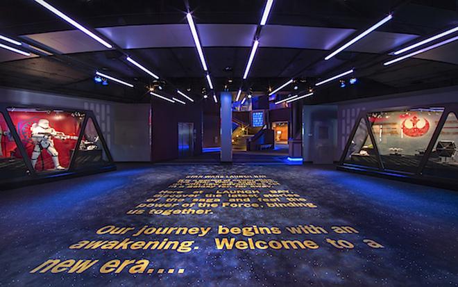 Star Wars Launch Bay Disneyland park Paul Hiffmeyer/Disneyland Resort