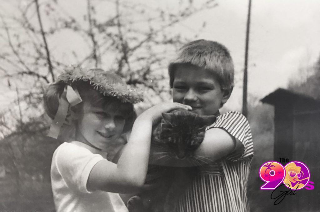 katarina van derham trailer the 90's girl photo black and white childhood photo family