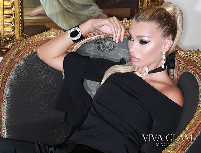model-anna-sergeevna-glamarella-jewelry-viva-glam-magazine, Czarevna Anna