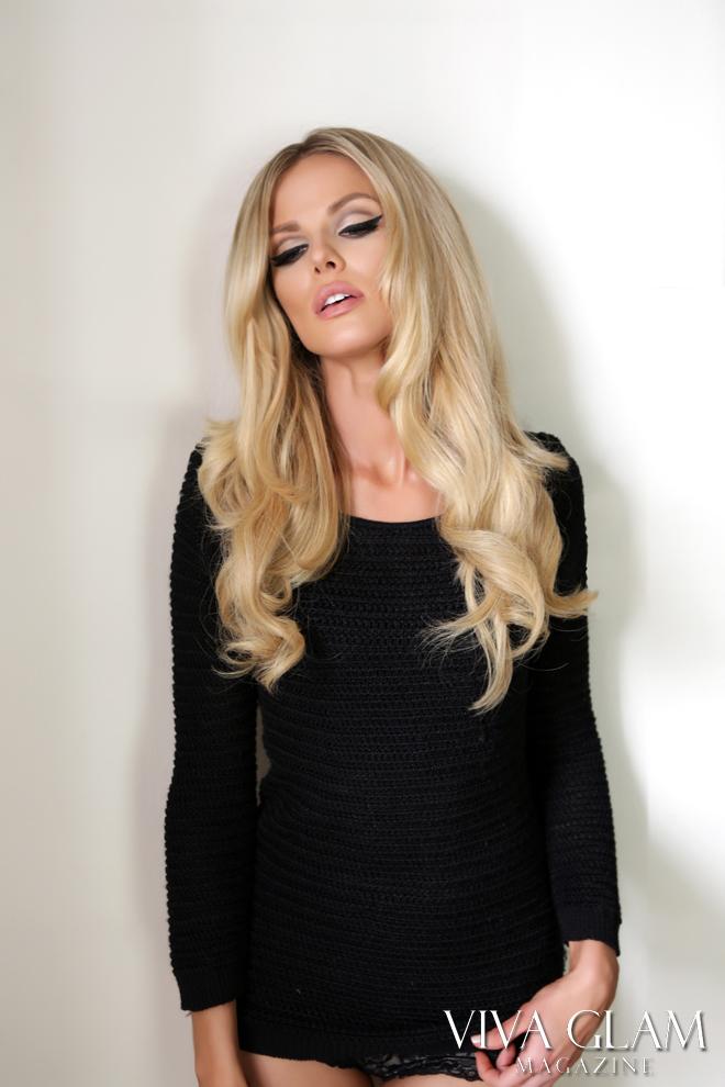 VIVA GLAM Magazine Classic Glam Issue Flip Cover Scarlett Burke fashion