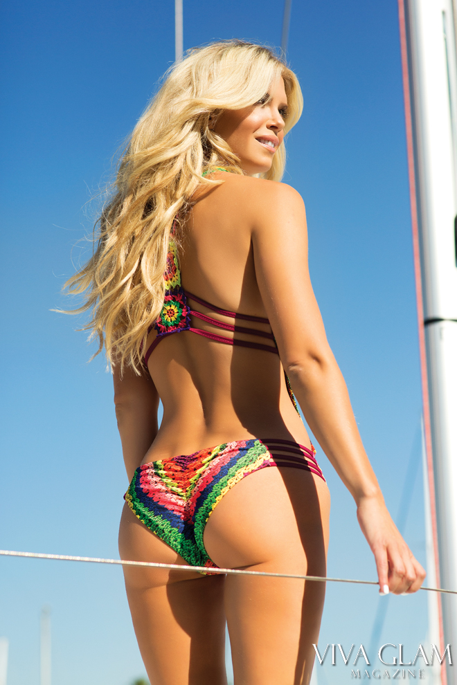 Top 20 Sexiest-2017-Nikki-Sharp-Agua-Bendita-swim-butt, Photographer Sarah Orbanic Makeup Hair Angelica Curiel, Marina del Rey, Cruising Yachts