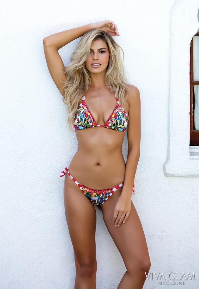 Top 20 Sexiest-2017-Paige-Collings-Korakia-Pensione-agua-bendita-bikini-white-wall, Photographer Deja Jordan Makeup Hair Yaniv Katzav