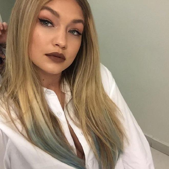 The 21 Best Gigi Hadid Makeup Looks Ever bold lip brown