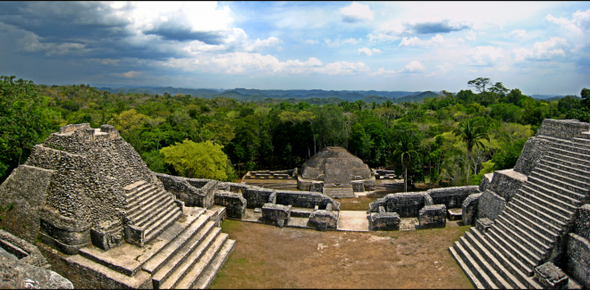 The Most Stunning Images of Mayan Ruins Caracol Ruins