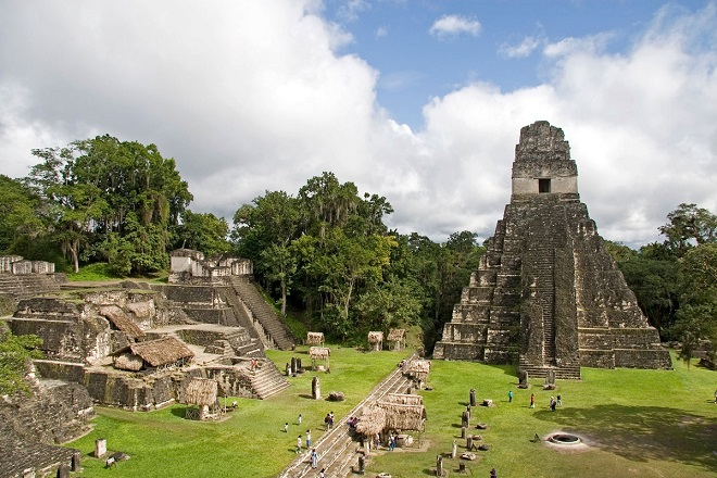 The Most Stunning Images of Mayan Ruins Tikal Ruins
