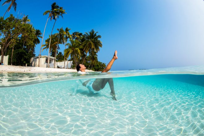 Where to Find the Clearest Water in the World Maldives