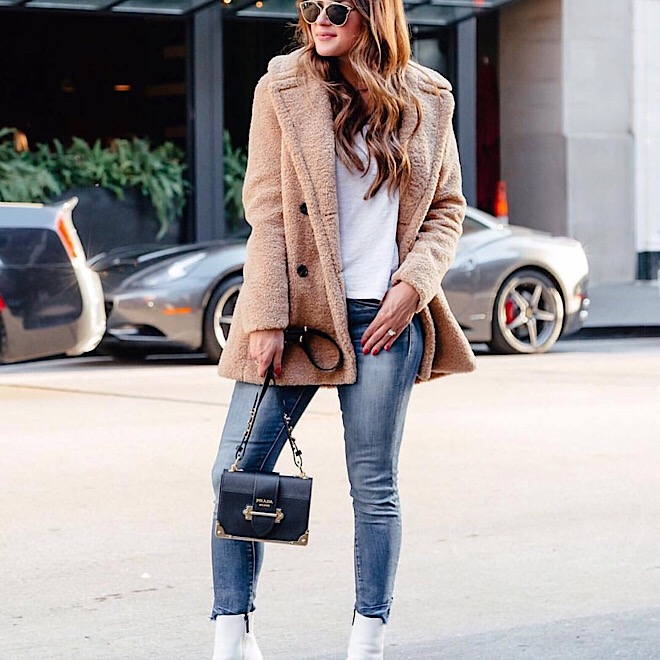 fur-coat-white-boots-street-style-fall-fashion-style-trends-denim-jeans