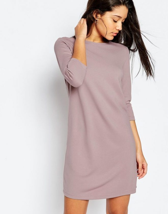 asos-mauve-purple-shift-dress-fashion-60s-trend-style