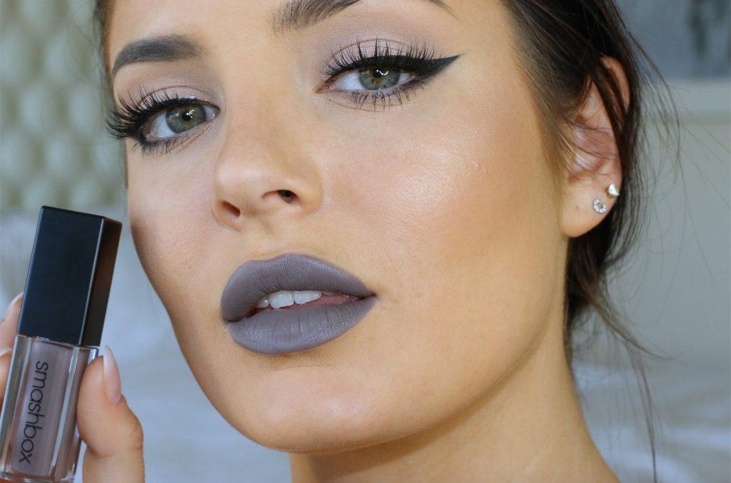 grey-liquid-lipstick-makeup-winter-glam-cosmetics