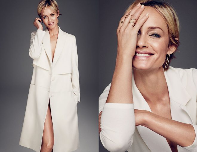 15 Celebrity Fashion Lines that Have Cruelty-Free Items white coat jewelry