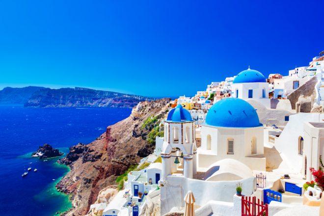 50 Destinations Worldwide to See This Summer Santorini