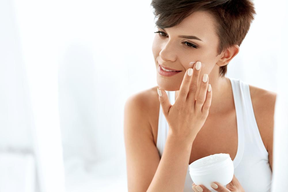 moisturizer, hydration, short hair, skincare