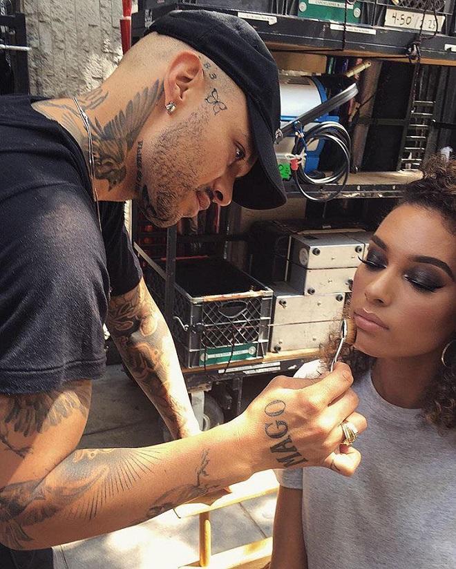 45 of Michael Anthony Best Beauty Looks on Instagram nude lipstick smokey eyeshadow