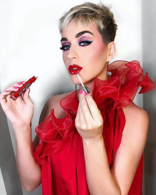 45 of Michael Anthony Best Beauty Looks on Instagram red lips pink eyeshadow