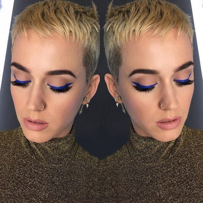 45 of Michael Anthony Best Beauty Looks on Instagram nude lipstick blue eyeliner