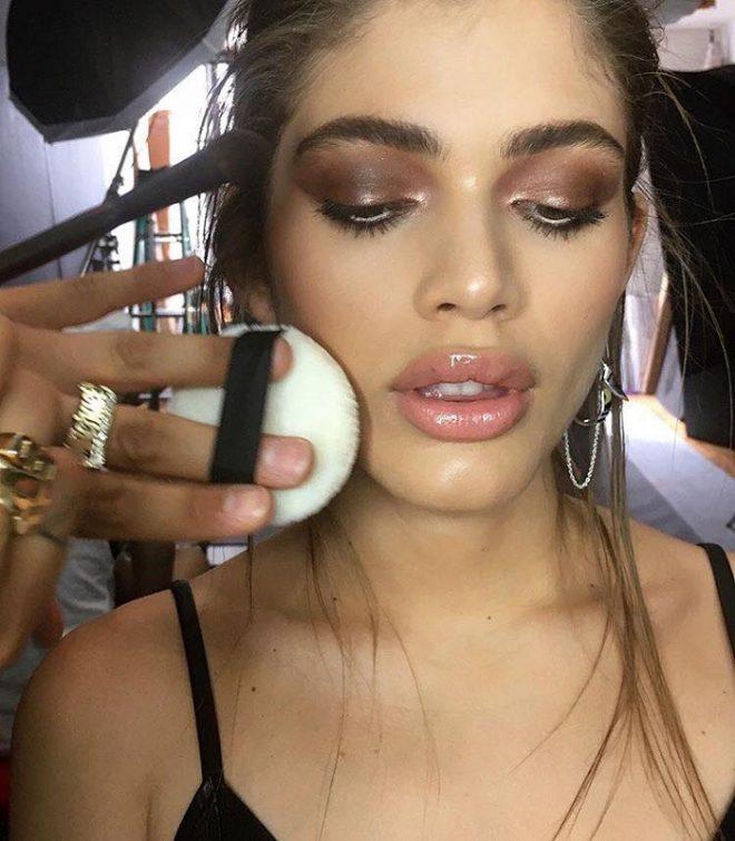 45 of Michael Anthony Best Beauty Looks on Instagram brown eyeshadow nude lips