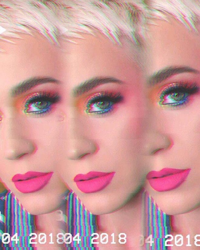 45 of Michael Anthony Best Beauty Looks on Instagram pink lips colorful eyeshadow