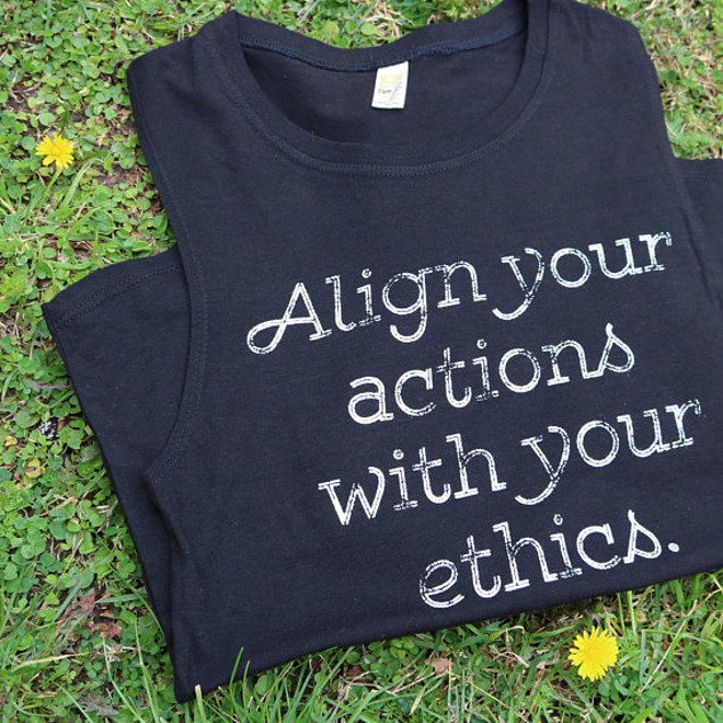20-Shirts-for-When-You're-Vegan-AF-Align Your Actions Vegan Tank