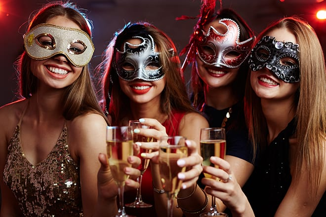 Masquerade Glam House Party Theme
